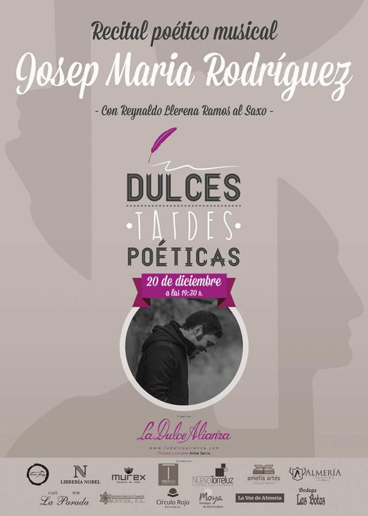 cartel-josep-dulces-tardes-poeticas