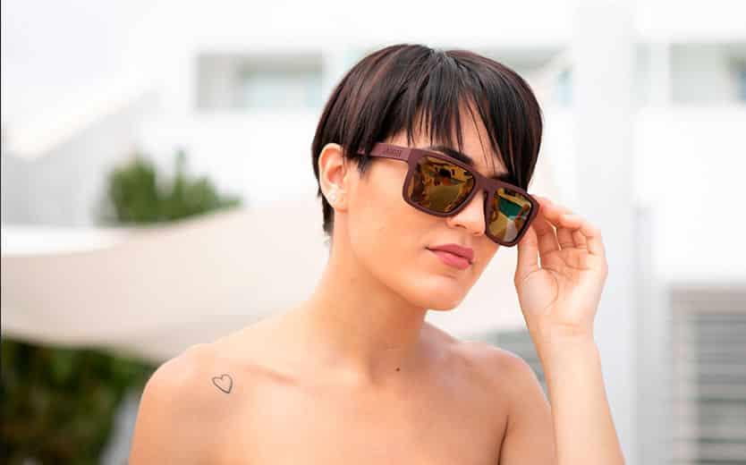 mujer sunrise glasses