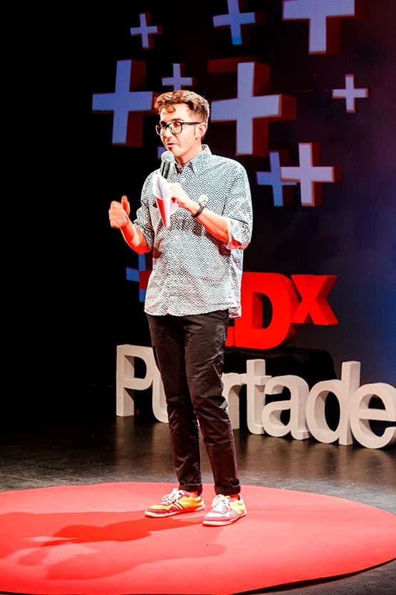 Carlos TEDxPuertaDePurchena Polarity 2018