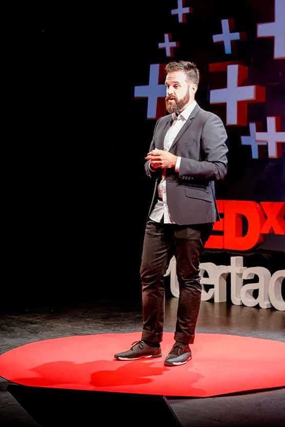 Nacho Calle TEDxPuertaDePurchena Polarity 2018