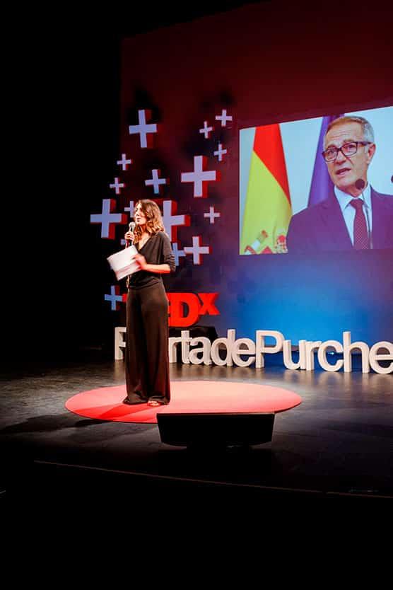 María TEDxPuertaDePurchena