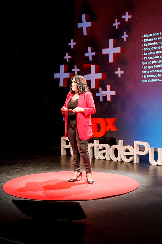 Ana Almansa TEDxPuertaDePurchena Polarity 2018
