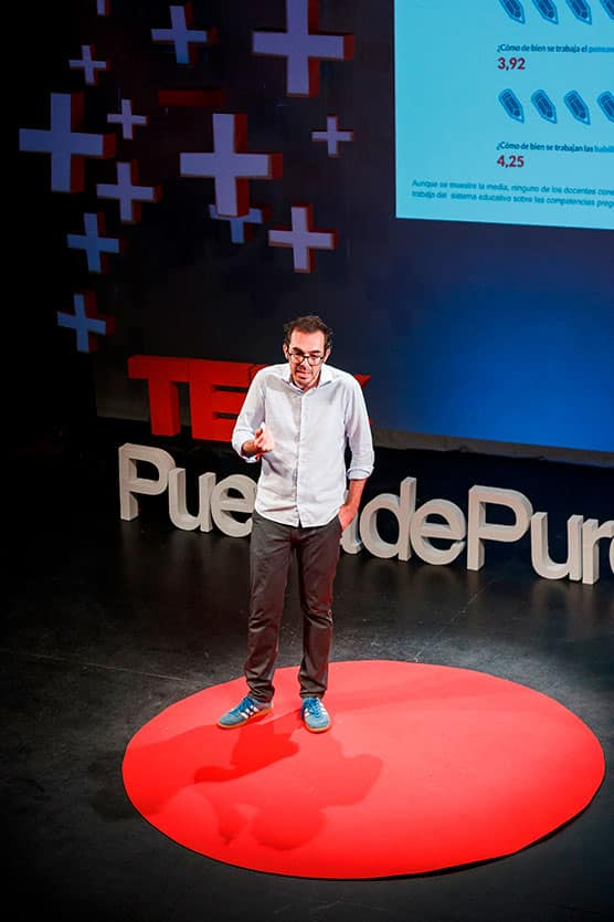 Pilo Martín TEDxPuertaDePurchena Polarity 2018