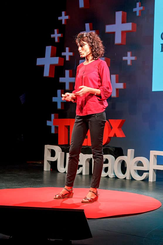 Gema Fernández TEDxPuertaDePurchena Polarity 2018