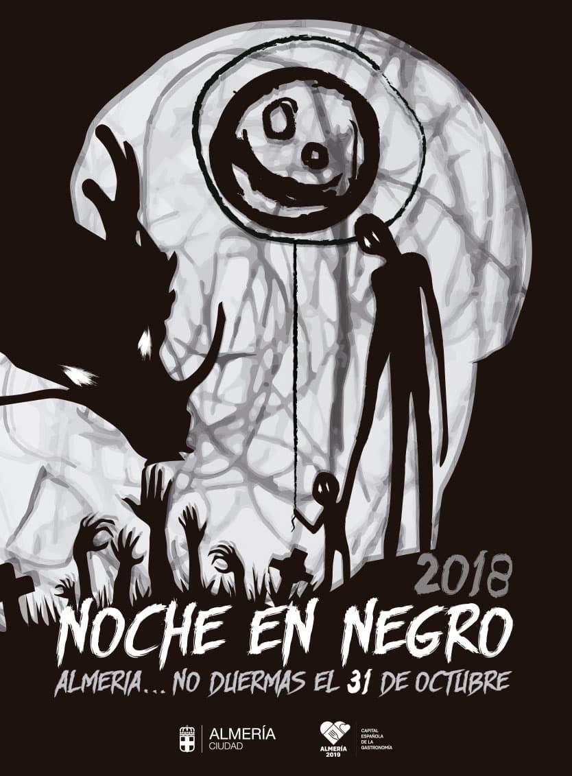 Cartel La Noche en Negro 2018