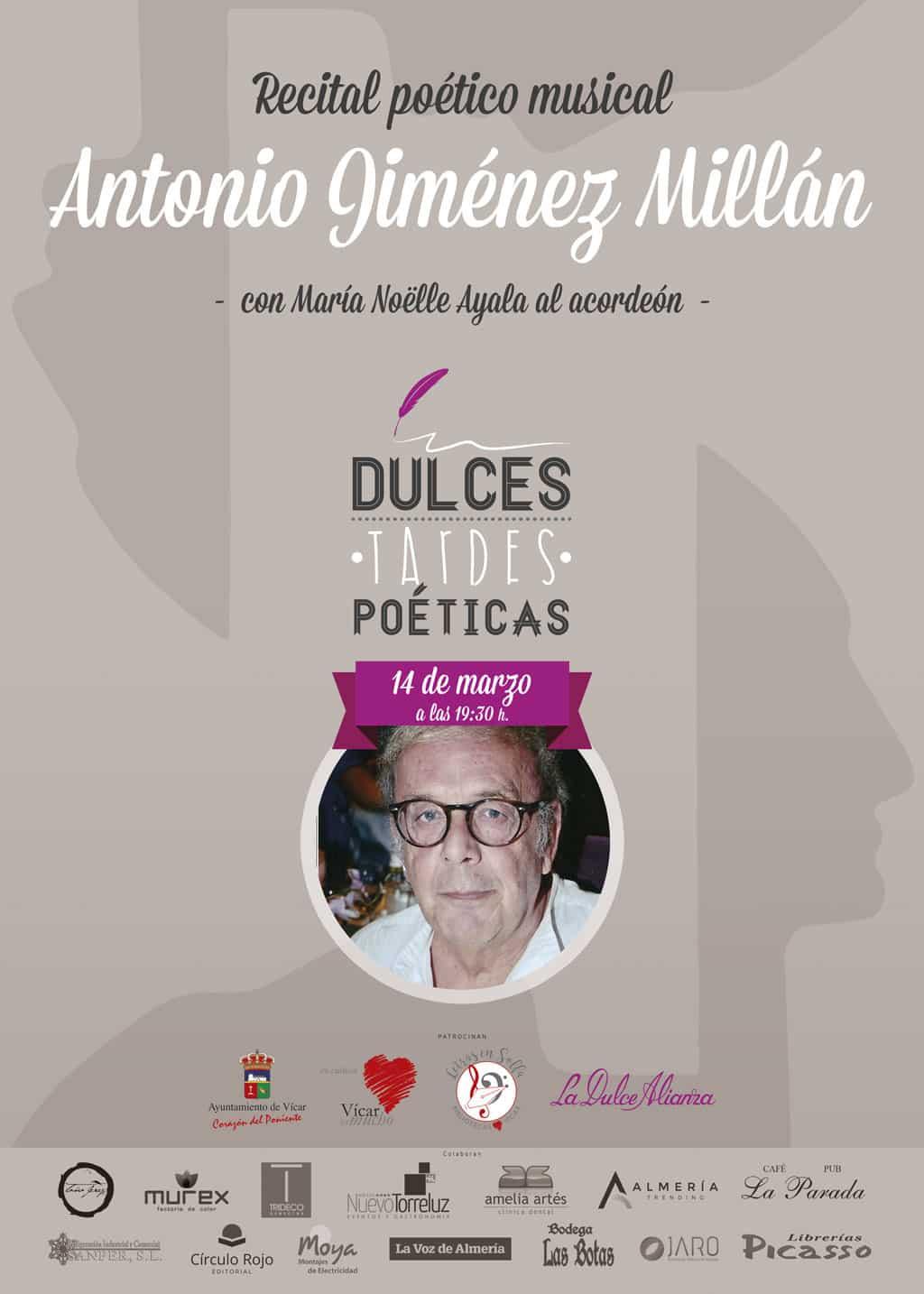 Antonio Jiménez Millán Dulces Tardes Poéticas