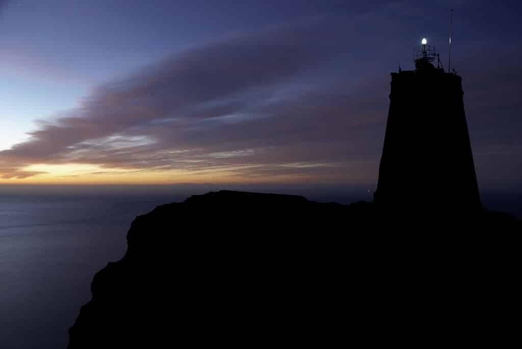 Faro de Punta  de la Polacra