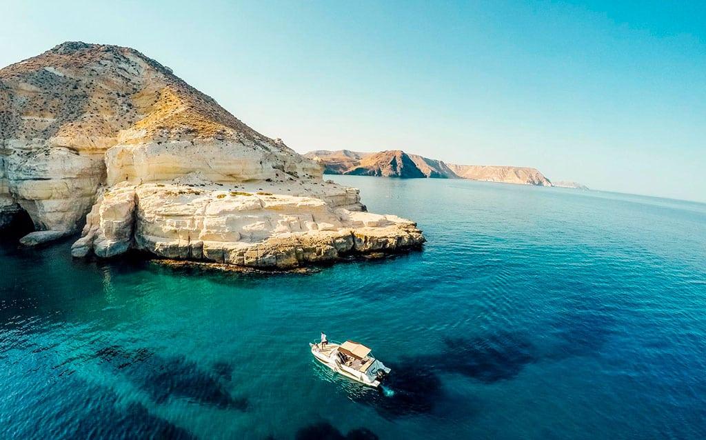 Cabo de Gata en yate