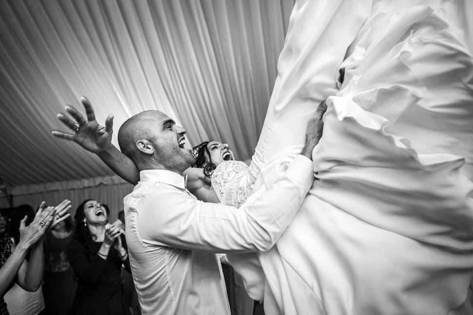 Fotografía boda documental Marie Marí