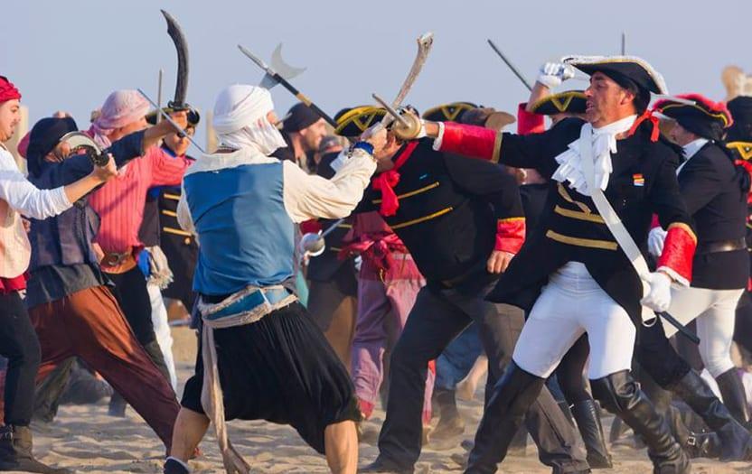 Desembarco Pirata San José