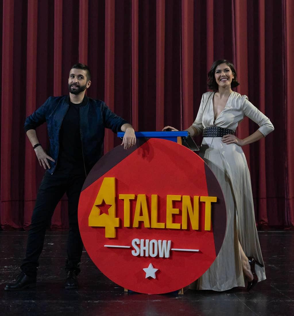 Presentadores 4Talent Show