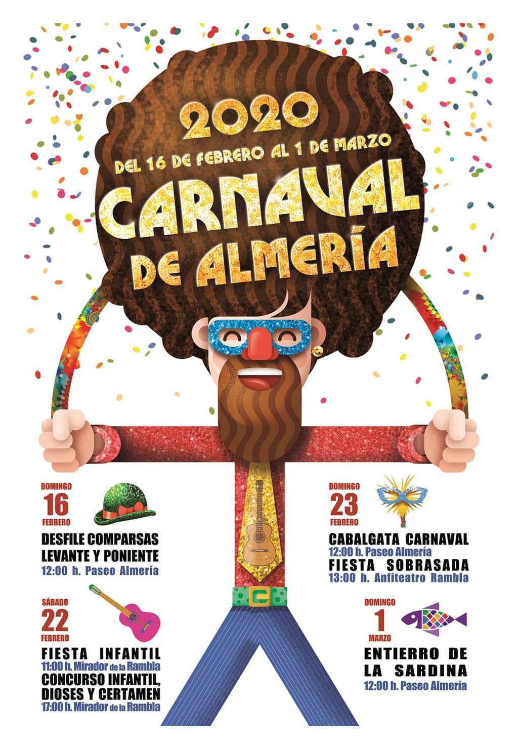 Cartel Carnaval de Almería