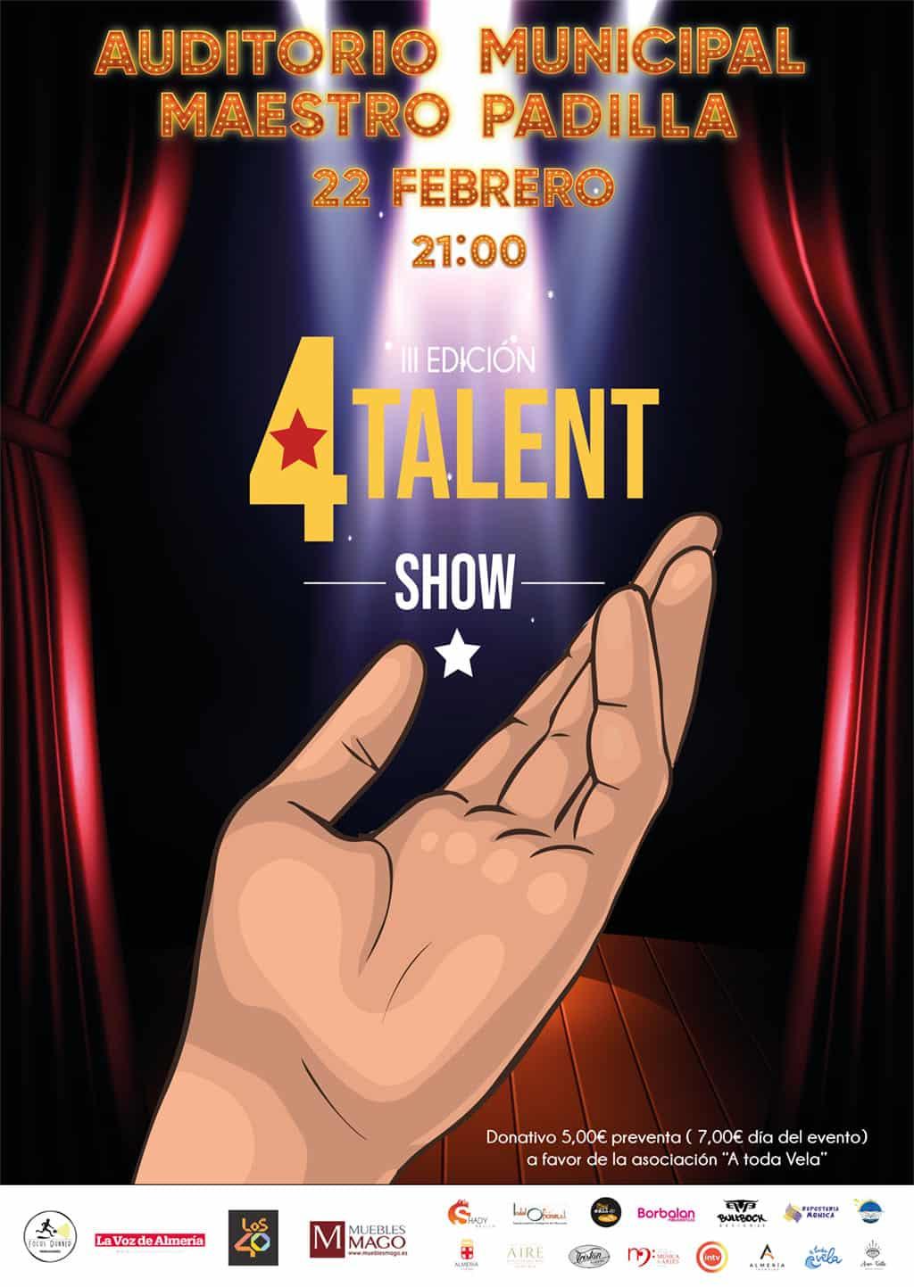 Cartel 4Talent Show