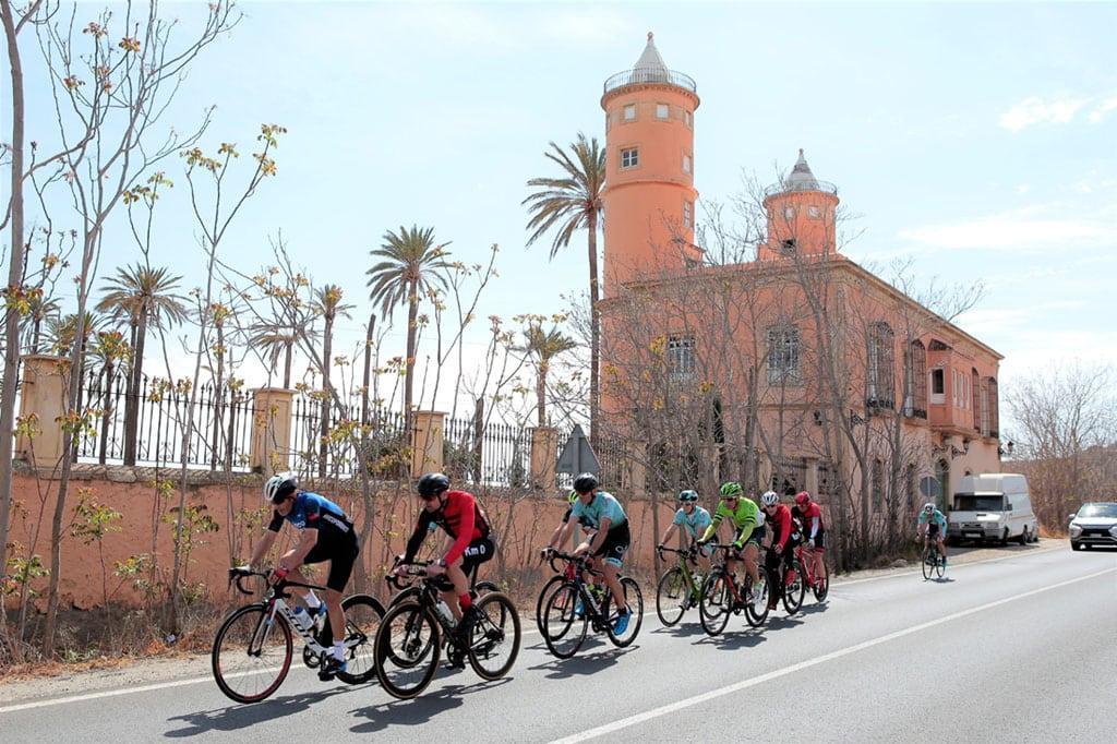 Ciclistas master