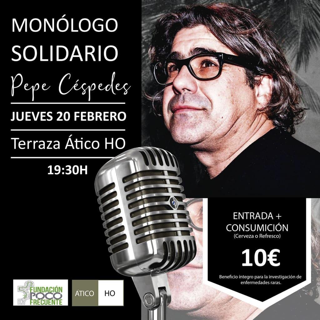 Pepe Cespedes Monólogo solidario