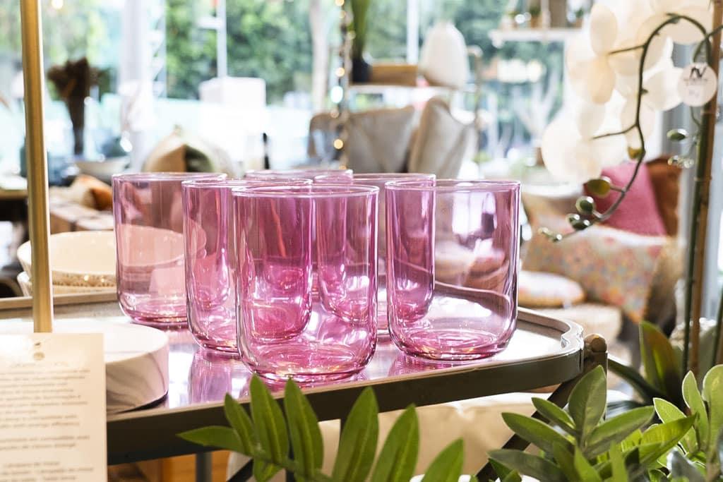 vasos colores almería