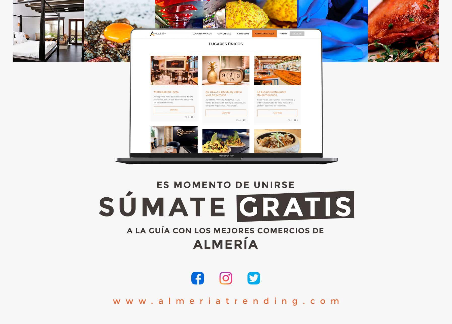 guía comercios de Almería