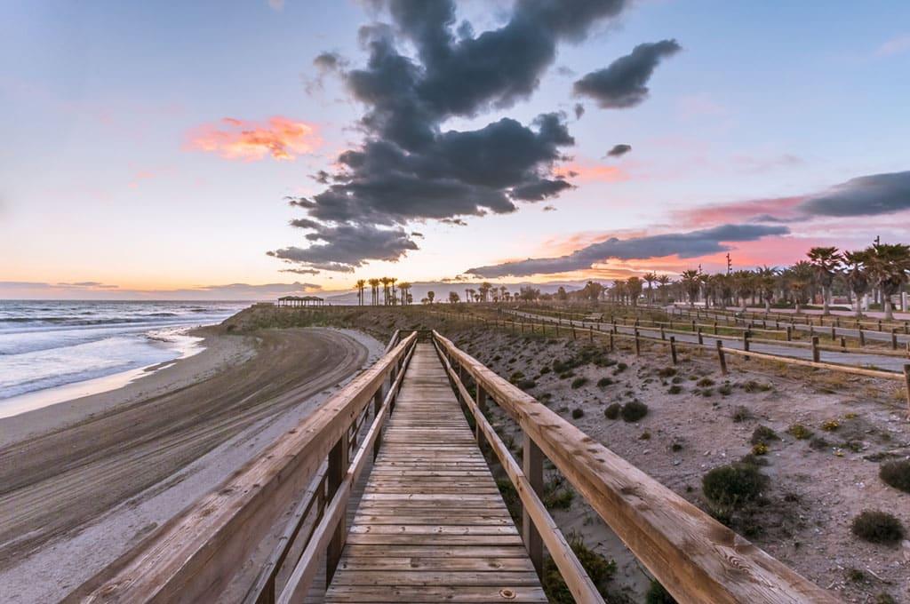 Retamar playa Almería