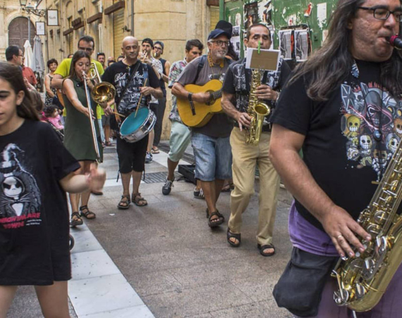 fiesta de la música Almería