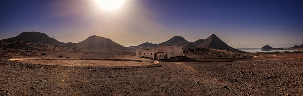 Playa de los Genoveses en Almería