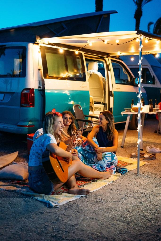 Camper Almería pernocta