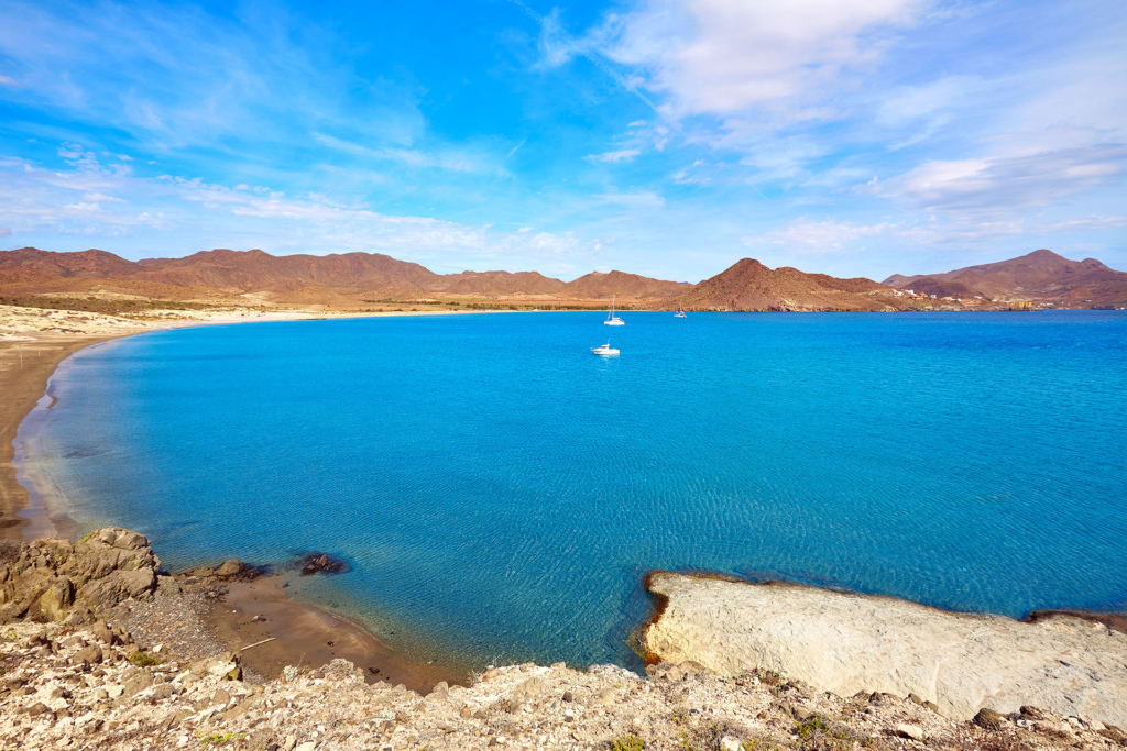 Almeria Playa los Genoveses beach Cabo de Gata