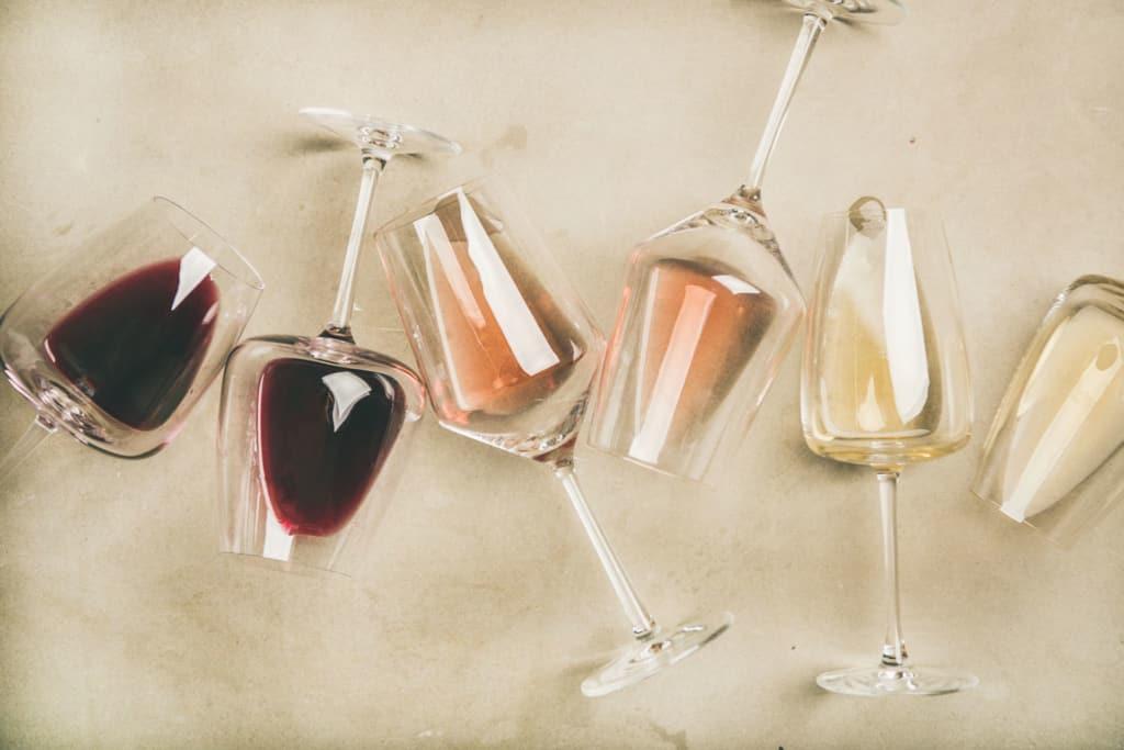vinos tintos, rosados, dulces y cavas
