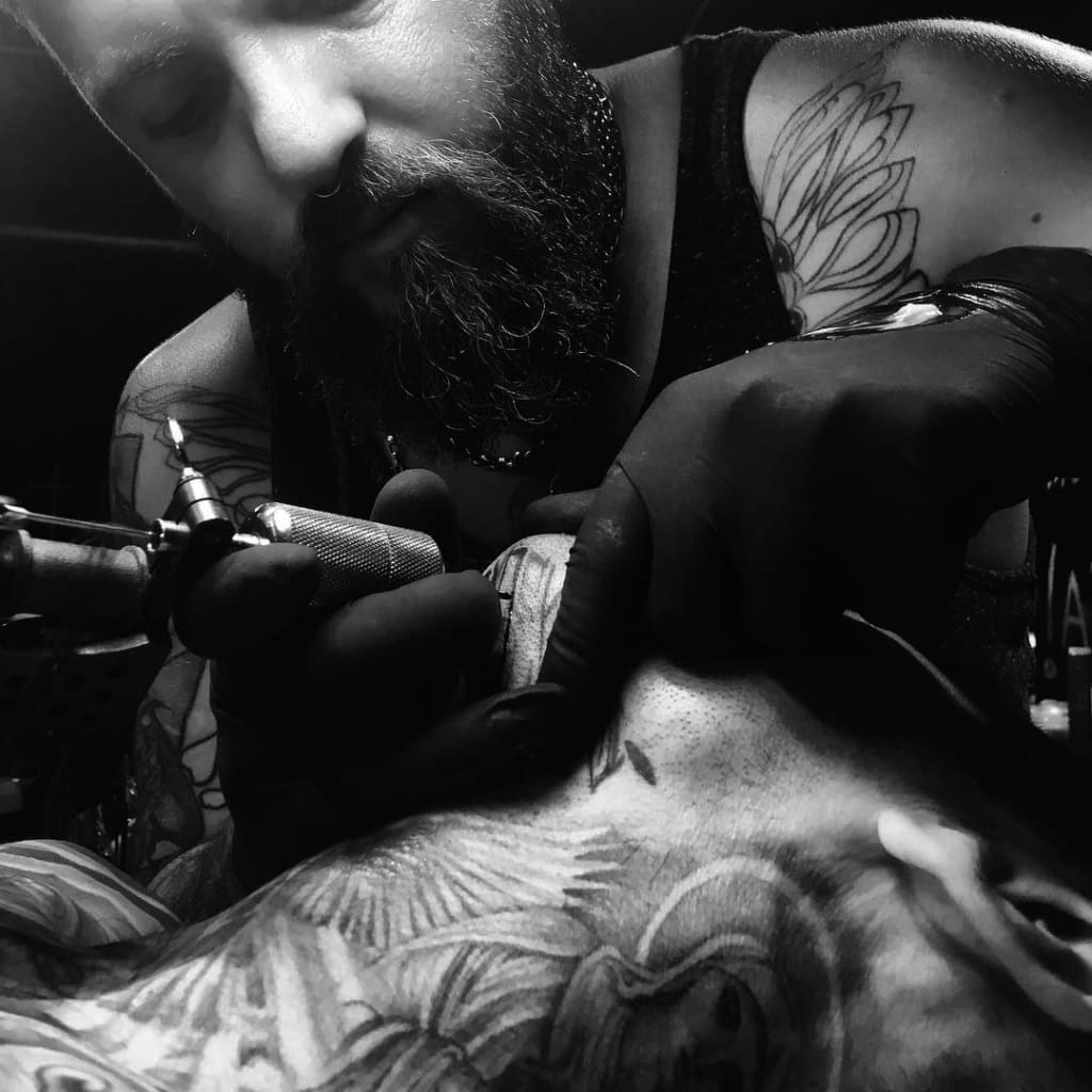 44 Needles tattoo & gallery