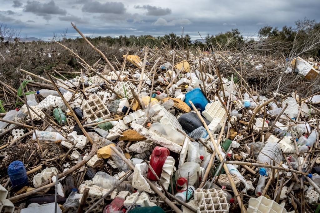 Plásticos en Rambla Morales