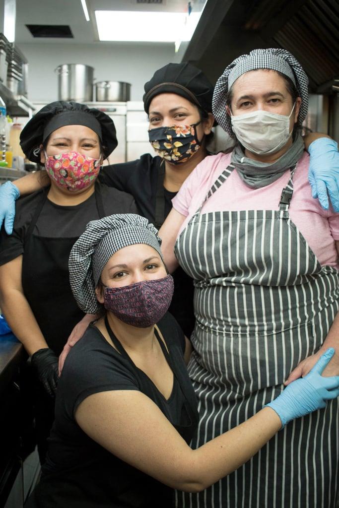 La Huerta equipo de cocina