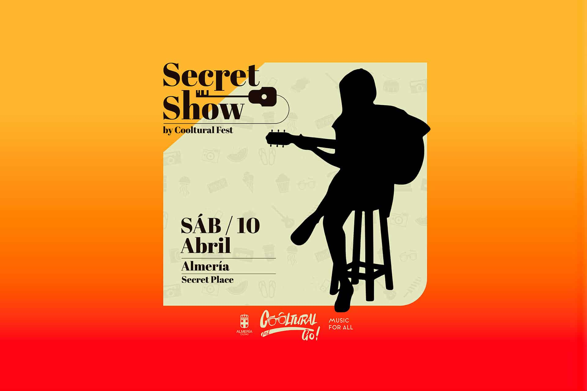 Gana dos entradas para el Secret Show by Cooltural Fest